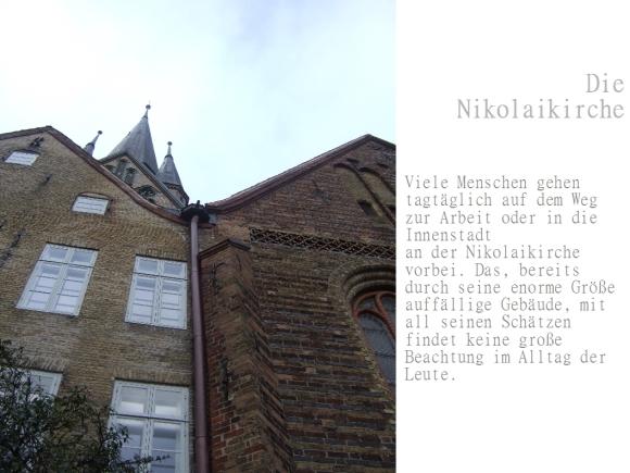 Die Nikolaikirche als außerschulischer Lernort 1