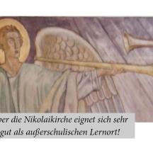 Die Nikolaikirche als außerschulischer Lernort 2