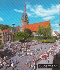Südermarkt Postkarte
